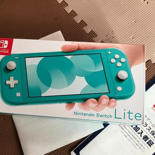 ニンテンドースイッチ(Nintendo Switch)の任天堂スイッチライト 新品、未使用 本日のみお値下げ(携帯用ゲーム機本体)