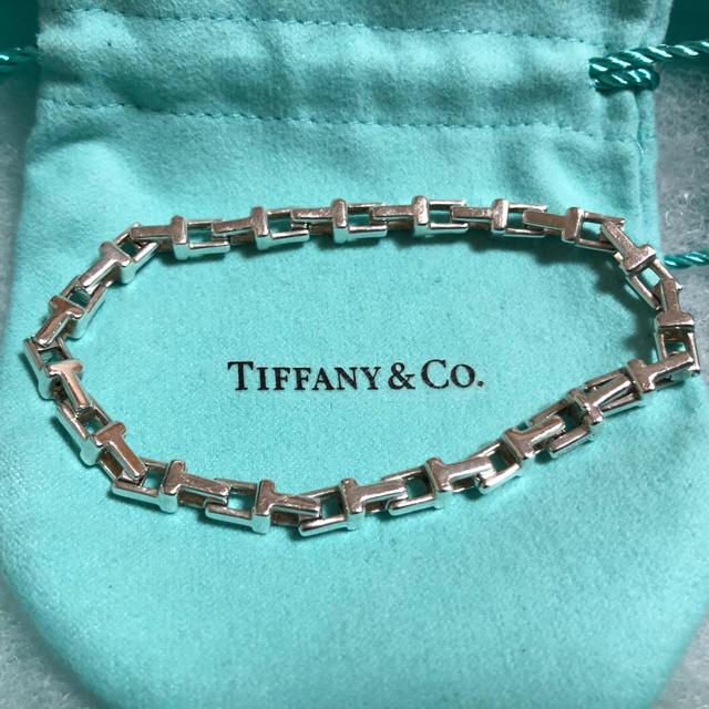 Tiffany & Co.(ティファニー)のティファニーTナローチェーンブレスレット メンズのアクセサリー(ブレスレット)の商品写真