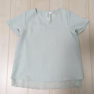 アオヤマ(青山)のシャツ ブラウス カットソー トップス 洋服の青山(シャツ/ブラウス(半袖/袖なし))