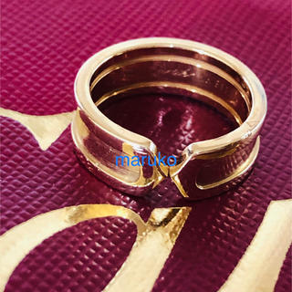 カルティエ(Cartier)のカルティエ k18 リング(リング(指輪))