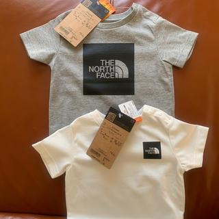 ザノースフェイス(THE NORTH FACE)の新品THE NORTH FACEベビーtシャツセット(Tシャツ)