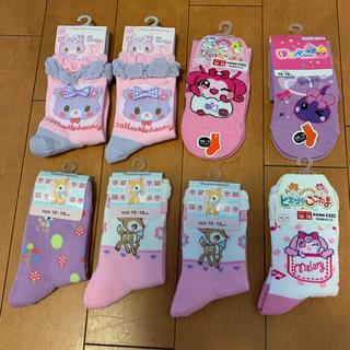 サンリオ - 女の子 靴下8足セット サンリオ ここタマ 16〜18cm