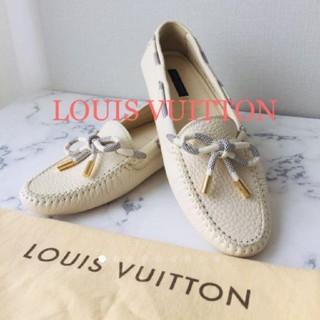 LOUIS VUITTON -  LOUIS VUITTON ドライビングシューズ 37