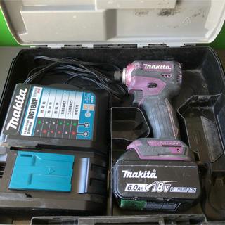 マキタ(Makita)のマキタインパクトドライバーTD 171 makita 18V 6Ah雪マーク‼️(工具/メンテナンス)