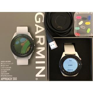 GARMIN - ガーミンゴルフ用ウォッチ アプローチ S60 ホワイト