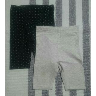 ムジルシリョウヒン(MUJI (無印良品))の無印良品 ハーフパンツ 80 2点セット(パンツ)