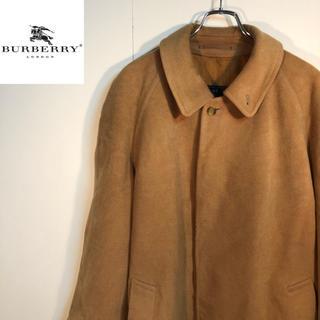 バーバリー(BURBERRY)のBURBERRYS バーバリー ウール&キャメルヘア コート(トレンチコート)