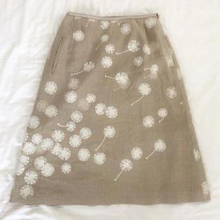ミナペルホネン(mina perhonen)の●ミナペルホネンのスカート tanpopo●minä perhonen(ひざ丈スカート)