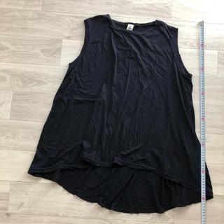 エンフォルド(ENFOLD)のnagonstans トップス ネイビー(Tシャツ(半袖/袖なし))