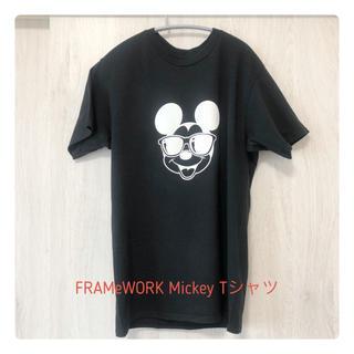 FRAMeWORK - フレームワーク Mickey Tシャツ