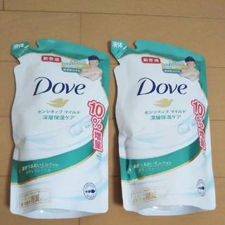 ユニリーバ(Unilever)のダヴ ボディウォッシュ センシティブマイルド 深層保湿ケア詰替用 400g (ボディソープ/石鹸)