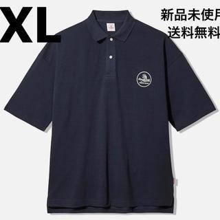 ジーユー(GU)のGU × STUDIO SEVEN ビッグポロ XL NAVY(ポロシャツ)