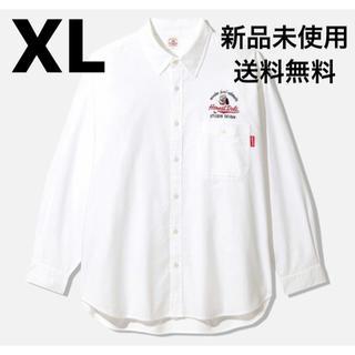 GU - gu studio seven long shirts WHITE XL