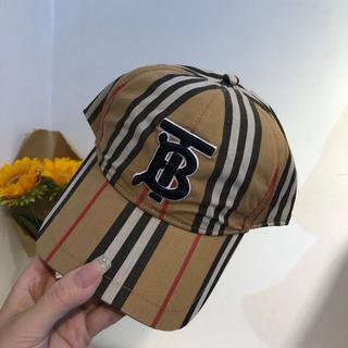 バーバリー(BURBERRY)のバーバリー♪モノグラムベースボールキャップ(キャップ)