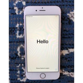 アイフォーン(iPhone)のiPhone 6s 64GB/ SIMフリー/ローズゴールド(スマートフォン本体)