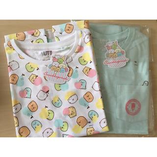 ユニクロ(UNIQLO)の新品未使用!すみっコぐらし ユニクロ コラボ Tシャツ 2種セット(Tシャツ/カットソー)