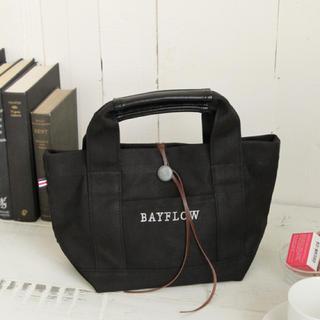 ベイフロー(BAYFLOW)のBAYFLOW /コンチョロゴトートバッグ Sサイズ(トートバッグ)