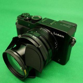 Panasonic - LX100中古品♪ 自動開閉キャップ、保護フィルタ付き