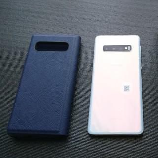 SAMSUNG - 美品 楽天モバイル Galaxy S10 simフリー  プリズムホワイト