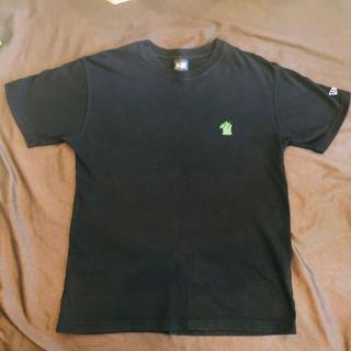 ニューエラー(NEW ERA)のnewera×ポパイマン 黒tシャツ(Tシャツ/カットソー(半袖/袖なし))