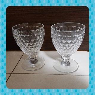 ビレロイアンドボッホ(ビレロイ&ボッホ)の美品 ビレロイボッホ ボストン ワイングラス ペア(グラス/カップ)
