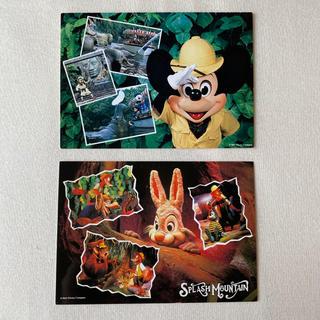 Disney - ディズニー ポストカード アトラクション