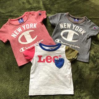 リー(Lee)の80センチ★3枚セット(Tシャツ)