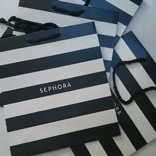 4点セット セフォラ 新品 ショップ袋 SEPHORA