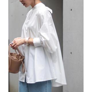 Mila Owen - 【新品タグ付き】♡Riche glamour♡ ブロードギャザーブラウス