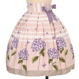 Innocent World - イノセントワールド*紫陽花と蝶のスカート