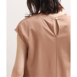 ノーブル(Noble)の2020SS ノーブル SLEEVELESS LONG Tシャツ ♪タグ付き新品(カットソー(半袖/袖なし))