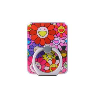 カイカイキキ Flower Smartphone Ring (Red)(その他)