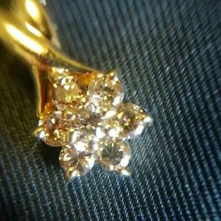 K18 0.5ct ダイヤモンドネックレストップ