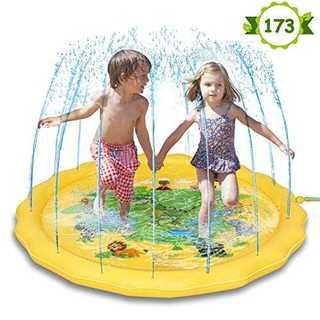 噴水マット 噴水おもちゃ プール噴水 プレイマット おもちゃ PVC プール子供