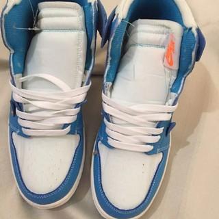 NIKE - Nike The 10 Air Jordan 1 ブルー ホワイト 27.5cm
