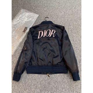 ディオール(Dior)のDIOR AND ALEX FOXTON' ボンバージャケット(テーラードジャケット)