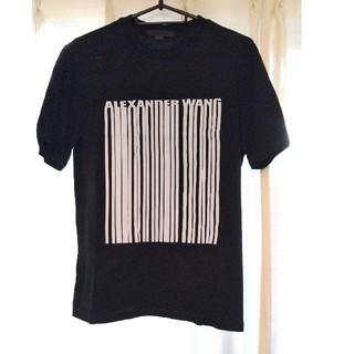 アレキサンダーワン(Alexander Wang)のアレキサンダーワン バーコードTシャツ 新品未使用(Tシャツ(半袖/袖なし))