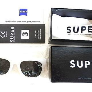 スーパー(SUPER)の新品 2020年福袋封入品 SUPER サングラス 芸能人愛用(サングラス/メガネ)