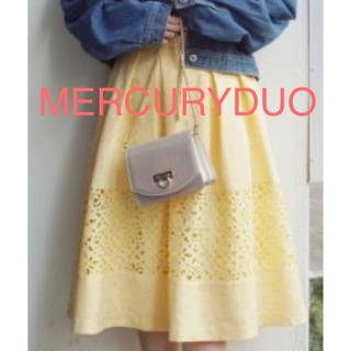 マーキュリーデュオ(MERCURYDUO)のマーキュリーデュオ スカート(ひざ丈スカート)