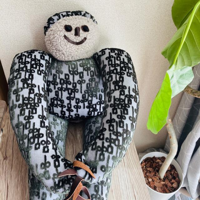 mina perhonen(ミナペルホネン)のミナペルホネン  オノメカマン onomekaman ぬいぐるみ インテリア/住まい/日用品のインテリア小物(置物)の商品写真