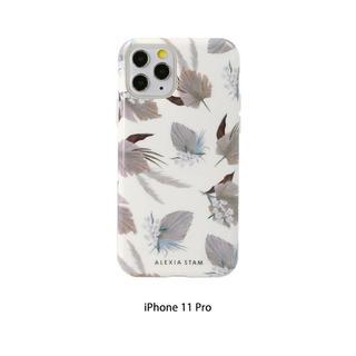 ALEXIA STAM - アリシアスタン White Daun Ornamen for iPhoneケース