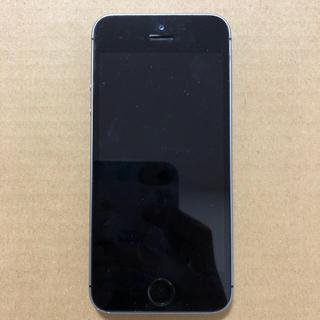 Apple - iPhone SE (第一世代)スペースグレイ 32GB au