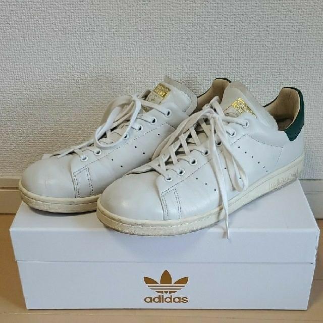 adidas(アディダス)のアディダス オリジナルス スタンスミス リーコン 26.5 ホワイト メンズの靴/シューズ(スニーカー)の商品写真