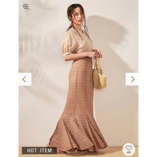 dazzlin - dazzlin 美品 レースロングマーメイドスカート