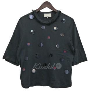スリーワンフィリップリム(3.1 Phillip Lim)の3.1 phillip lim スリーワンフィリップリム 装飾Tシャツ XS(Tシャツ(半袖/袖なし))