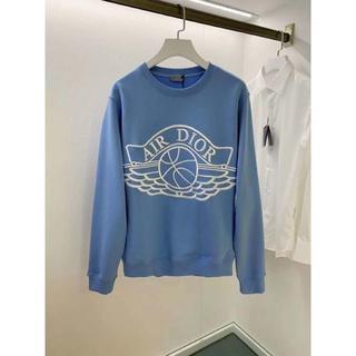 ディオール(Dior)のDior☆ Air Jordan Wings Sweater /BLUE(スウェット)
