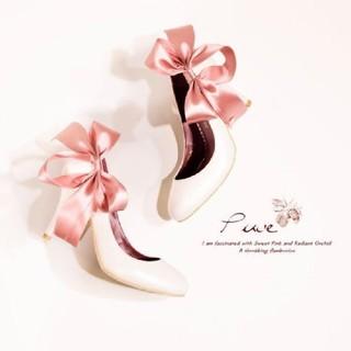 アンジェリックプリティー(Angelic Pretty)のマイラクラシック プヴェ ミルクベリー  34(ハイヒール/パンプス)