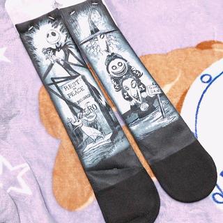 Disney - 新品ナイトメアビフォアクリスマス ホーンテッドマンション 靴下