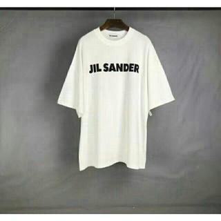 ジルサンダー(Jil Sander)の【Jil Sander】オーバーサイズロゴTシャツ(Tシャツ/カットソー(半袖/袖なし))