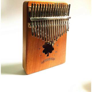 新品❗️ カリンバ 親指ピアノ 17キー